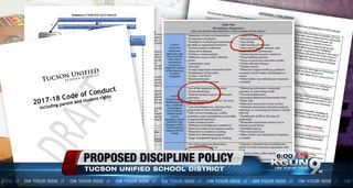 TUSD's proposed discipline policy released