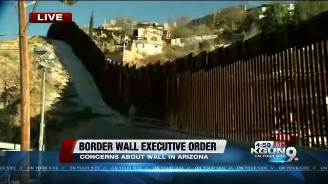 article news trump signs executive orders border wall sanctuary cities