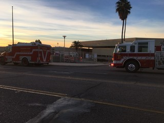 Smoke hazard cleared at Cholla HS