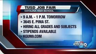 TUSD hosts teacher job fair on Saturday