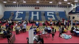 Job fairs at three Pima County schools