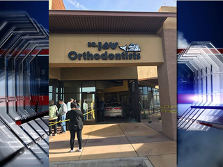 Car crashes into orthodontist's office in OV