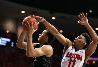 No. 9 Arizona escapes, 74-67, over Stanford
