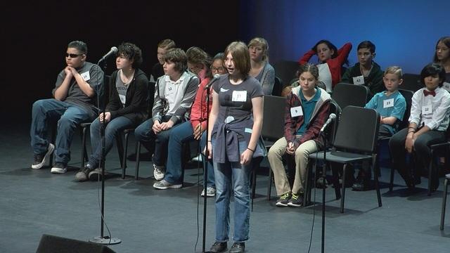 Jillian Smith wins Pima County Spelling Bee
