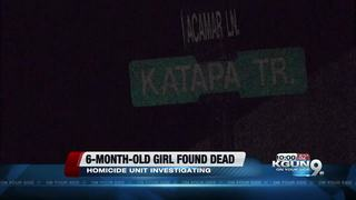 Deputies investigating death of 6-month-old