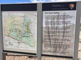 Border security at Organ Pipe National Monument