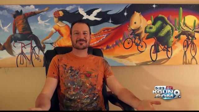 Man launches mural Kickstarter to help beautify Tucson ... Ellen Page Tucson