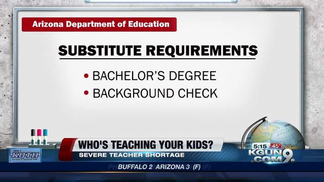 What does a teacher's background check consist of?