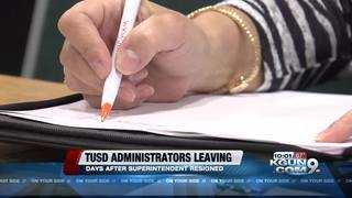 More TUSD top administrators leaving district