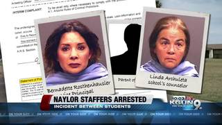 New information on arrests of two TUSD staff