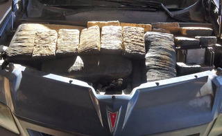 Narcotics dog sniffs out 200 pounds of marijuana
