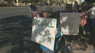 Group holds rally outside of McCain's office