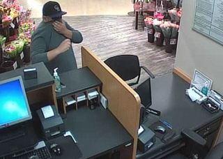 Deputies look for bank robber