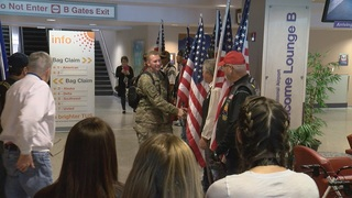 Sweet welcome for Airmen returning to Tucson