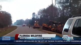 Wildfires sweep through Florida, Texas