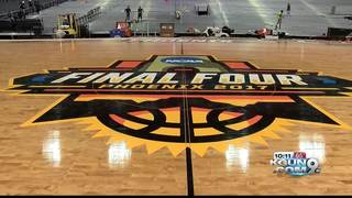 Final preparations in Glendale for Final Four