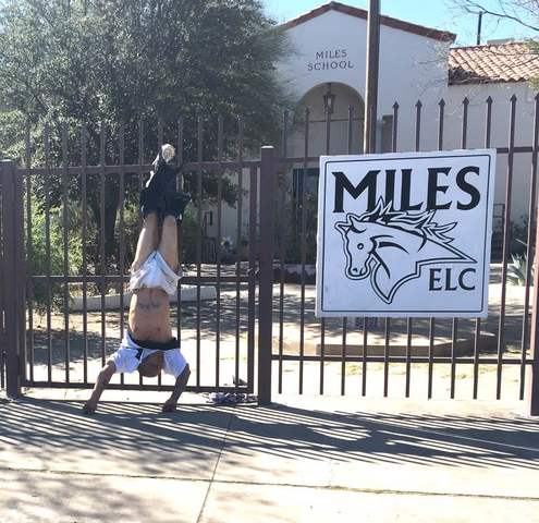 Man pantsed, left hanging by spiked fence in Tucson
