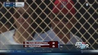 Arizona softball's Mike Candrea earns 1500th win