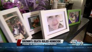 Ashley Brown's death ruled a homicide