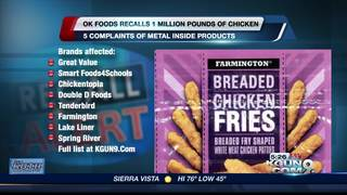 Supplier issues frozen chicken recall