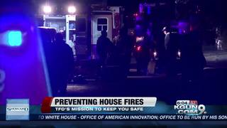 House fire prevention & safety tips