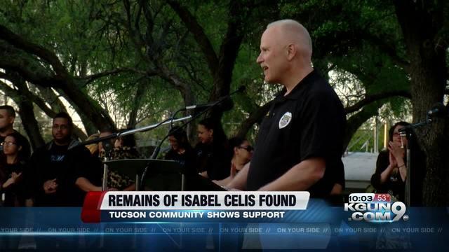 Tucson community holds vigil for Isabel Celis, no updates ...