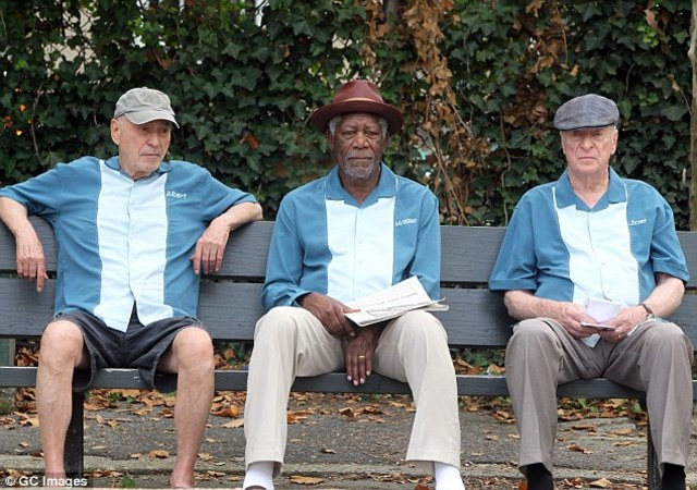 Freeman, Caine and Arkin on aging as actors