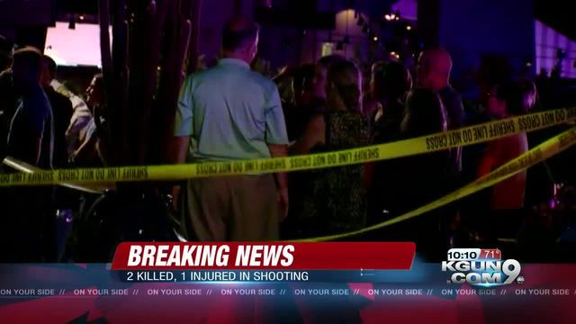 Deputies: 2 men shot dead at mall restaurant in Tucson