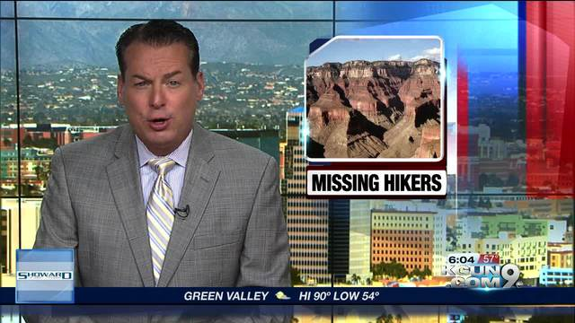 Crews search for hikers swept away in Grand Canyon creek