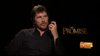 Christian Bale on the movie The Promise