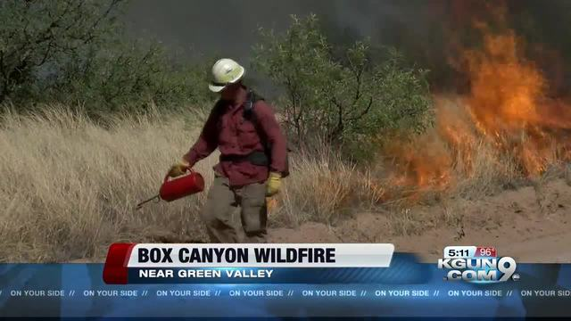 Fire grows to 40350 acres