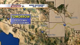 FORECAST: Cooler, but windy