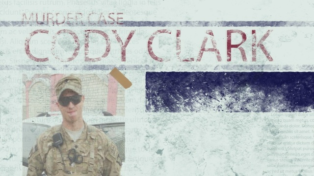 PTSD to Prison. The Cody Clark Murder Case