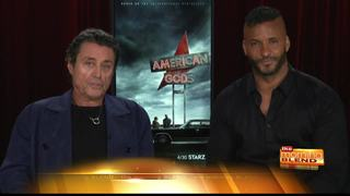 American Gods: Ian McShane and Ricky Whittle