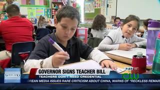 TUSD supports Gov. Ducey's teacher bill