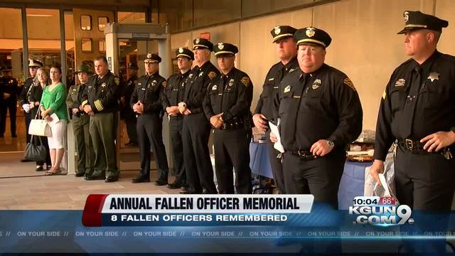 Law enforcement memorial service set
