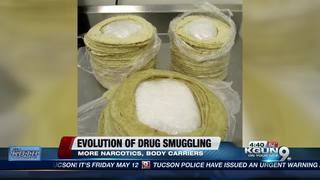 Evolution of drug smuggling at the border