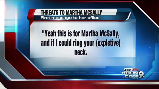 Tucson man arrested for allegedly threatening Rep. Martha McSally