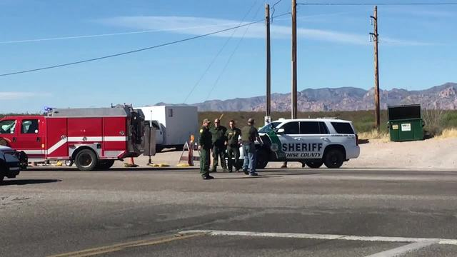 Border Patrol agents shoot man at checkpoint near Tombstone