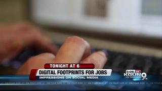 A strong digital footprint may aid job prospects