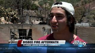 Bisbee fire aftermath