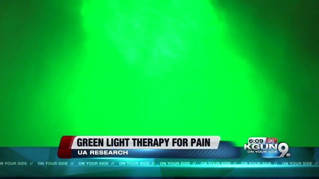 UA Researchers Continue Green Light Therapy Study   KGUN9.com