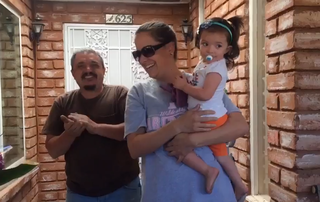 Family receives backyard makeover