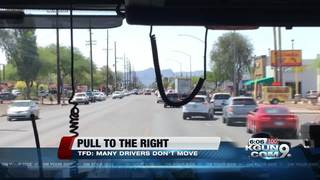 TFD: pull to the right for sirens and lights