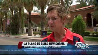 Tucson throws red flag in new UofA building