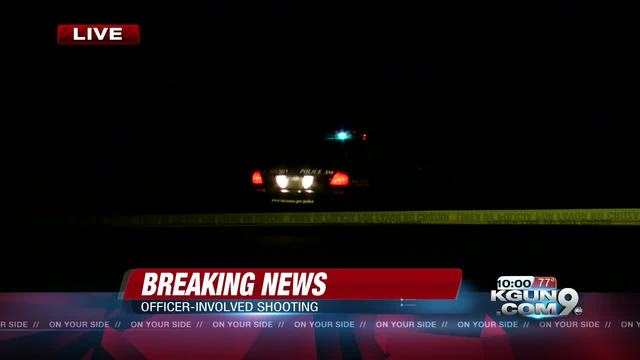 Police investigating officer involved shooting near South Lawn Cemetery