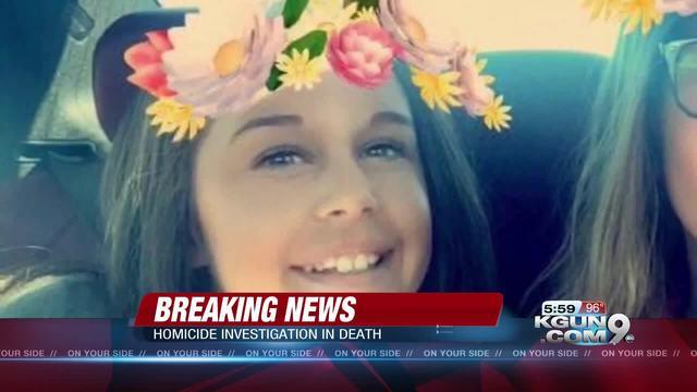 Tucson police arrest stepdad of Vail teen found dead