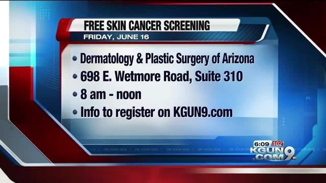 Tucson Dermatologist Offering Free Skin Cancer Screenings Kgun9