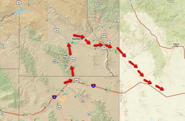 Crash, dust closes section of I-10 in Arizona, New Mexico