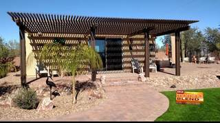 Beat the heat with lattice patio covers